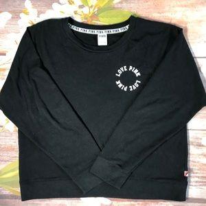 Pink by VS Black Sweatshirt